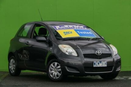 2008 Toyota Yaris NCP90R YR Grey 4 Speed Automatic Hatchback Ringwood East Maroondah Area Preview