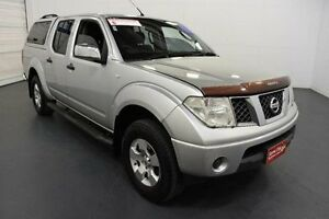 2006 Nissan Navara D40 RX (4x4) Silver 5 Speed Automatic Dual Cab Pick-up Moorabbin Kingston Area Preview