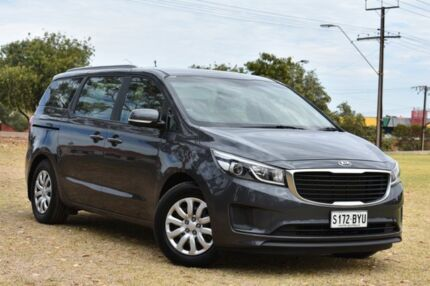 2016 Kia Carnival YP MY16 S Grey 6 Speed Sports Automatic Wagon St Marys Mitcham Area Preview