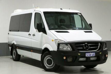 2011 Mercedes-Benz Sprinter 906 MY11 316 CDI MWB White 5 Speed Automatic Van Bentley Canning Area Preview