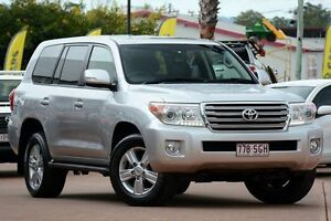 2012 Toyota Landcruiser VDJ200R MY12 VX Silver 6 Speed Sports Automatic Wagon Moorooka Brisbane South West Preview
