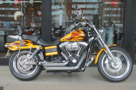A great example of Harley's DYNA FXDB STREET BOB