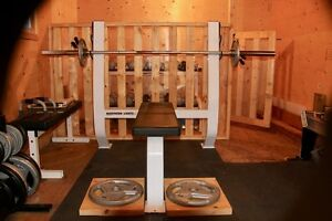 Commercial Grade Olympic Bench Press