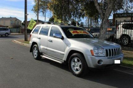2007 Jeep Grand Cherokee WH Laredo (4x4) Silver 5 Speed Automatic Wagon Hillcrest Port Adelaide Area Preview