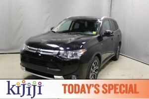 2015 Mitsubishi Outlander AWC GT Leather,  Heated Seats,  Sunroo
