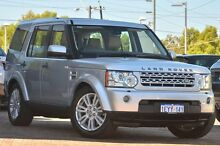 2013 Land Rover Discovery 4 Series 4 L319 MY13 TDV6 Silver 8 Speed Sports Automatic Wagon Osborne Park Stirling Area Preview