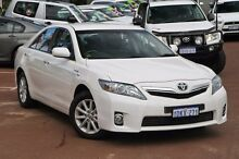 2010 Toyota Camry AHV40R MY10 Hybrid White 1 Speed Constant Variable Sedan Cannington Canning Area Preview
