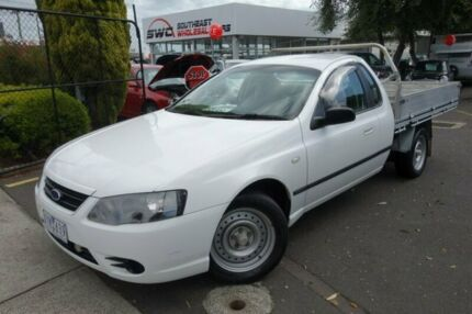 2007 Ford Falcon BF Mk II XL Super Cab White 4 Speed Sports Automatic Cab Chassis Seaford Frankston Area Preview
