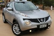 2013 Nissan Juke F15 MY14 ST-S 2WD Silver 6 Speed Manual Hatchback Thebarton West Torrens Area Preview