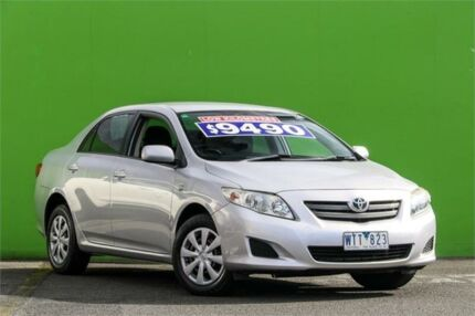 2008 Toyota Corolla ZRE152R Ascent Silver 6 Speed Manual Sedan Ringwood East Maroondah Area Preview