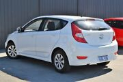 2016 Hyundai Accent RB4 MY17 Active White 6 Speed Constant Variable Hatchback Midvale Mundaring Area Preview