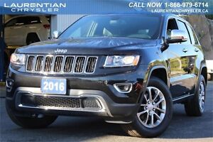 2016 Jeep Grand Cherokee LIMITED-4X4+LEATHER+HEATED SEATS+BACKUP