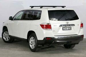 2012 Toyota Kluger GSU40R MY12 KX-R 2WD White 5 Speed Sports Automatic Wagon Alexandria Inner Sydney Preview