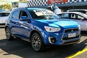 2016 Mitsubishi ASX XB MY15.5 LS 2WD Electric Blue 6 Speed Constant Variable Wagon Ringwood East Maroondah Area Preview