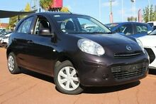 2014 Nissan Micra K13 Series 4 MY15 ST Purple 4 Speed Automatic Hatchback Willagee Melville Area Preview