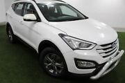 2015 Hyundai Santa Fe DM2 MY15 Active White 6 Speed Sports Automatic Wagon Moonah Glenorchy Area Preview