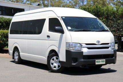 2016 Toyota Hiace TRH201R MY15 LWB White 6 Speed Automatic Van Acacia Ridge Brisbane South West Preview