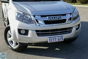 2015 Isuzu D-MAX MY15 LS-U Crew Cab Titanium Silver 5 Speed Sports Automatic Utility Hillman Rockingham Area Preview
