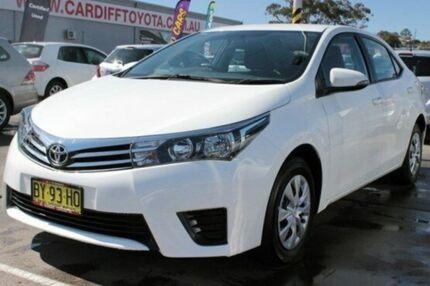 2014 Toyota Corolla ZRE172R Ascent White 7 Speed CVT Auto Sequential Sedan Cardiff Lake Macquarie Area Preview