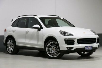 2015 Porsche Cayenne Series 2 MY16 Diesel White 8 Speed Automatic Tiptronic Wagon Bentley Canning Area Preview