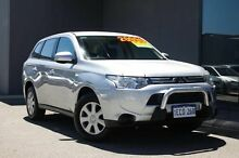 2012 Mitsubishi Outlander ZJ MY13 ES 4WD Silver 6 Speed Constant Variable Wagon Osborne Park Stirling Area Preview