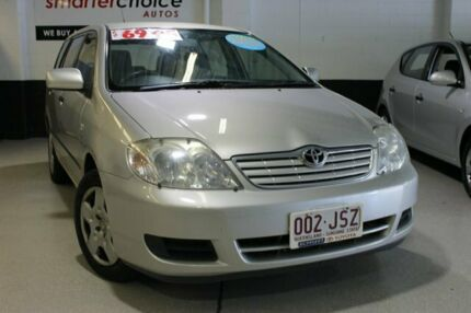 2006 Toyota Corolla Ascent Silver 4 Speed Automatic Wagon Southport Gold Coast City Preview