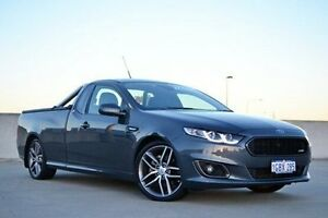 2015 Ford Falcon FG X XR6 Ute Super Cab Turbo Grey 6 Speed Manual Utility Midland Swan Area Preview