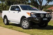 2011 Mazda BT-50 UP0YF1 XTR White 6 Speed Manual Utility Wangara Wanneroo Area Preview