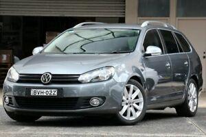 2010 Volkswagen Golf 1K MY11 118 TSI Comfortline Grey 7 Speed Auto Direct Shift Wagon