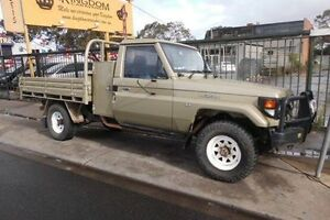 1999 Toyota Landcruiser Gold Manual Cab Chassis Fawkner Moreland Area Preview
