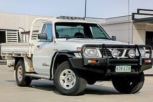 1999 Nissan Patrol GU DX White 5 Speed Manual Cab Chassis Pakenham Cardinia Area Preview