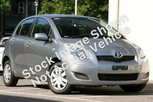 2010 Toyota Yaris NCP90R MY10 YR Silver 5 Speed Manual Hatchback Hillcrest Port Adelaide Area Preview