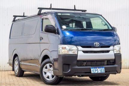 2014 Toyota Hiace KDH201R MY14 LWB Blue 4 Speed Automatic Van