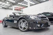 2008 Mercedes-Benz SL63 AMG R230 08 Upgrade Obsidian Black 7 Speed Automatic G-Tronic Convertible Port Melbourne Port Phillip Preview