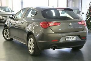2013 Alfa Romeo Giulietta Series 0 MY13 Progression Grey 6 Speed Manual Hatchback Chatswood Willoughby Area Preview