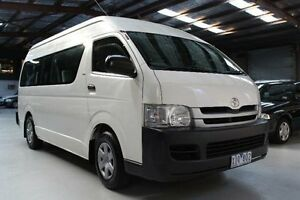 2010 Toyota Hiace TRH223R Commuter White Automatic Bus Knoxfield Knox Area Preview