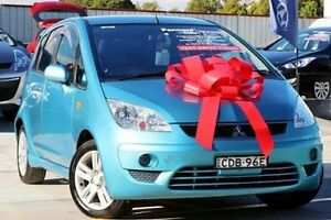 2011 Mitsubishi Colt RG MY11 VR-X Blue 5 Speed Constant Variable Hatchback Thornleigh Hornsby Area Preview