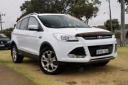 2014 Ford Kuga TF MY15 Trend PwrShift AWD Frozen White 6 Speed Sports Automatic Dual Clutch Wagon Wangara Wanneroo Area Preview