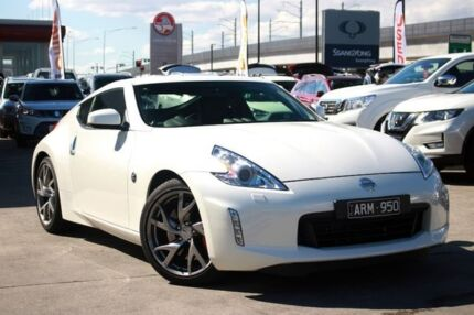 2017 Nissan 370Z Z34 MY17 Ivory Pearl 7 Speed Sports Automatic Coupe Frankston Frankston Area Preview