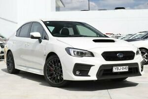 2019 Subaru WRX MY19 Premium (AWD) Crystal White Continuous Variable Sedan