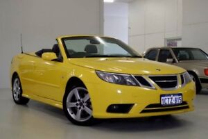 2008 Saab 9-3 442 MY2008 Linear BioPower Yellow 5 Speed Sports Automatic Convertible Myaree Melville Area Preview