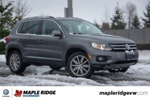 2016 Volkswagen Tiguan Highline NO ACCIDENTS, GREAT CONDITION, A