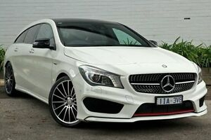 2015 Mercedes-Benz CLA250 White Sports Automatic Dual Clutch Wagon Burwood Whitehorse Area Preview