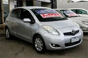 2009 Toyota Yaris NCP90R MY10 YR Silver 4 Speed Automatic Hatchback Ringwood East Maroondah Area Preview