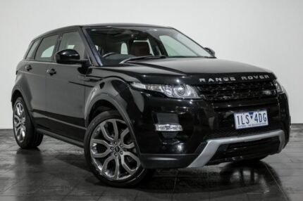 2014 Land Rover Range Rover Evoque L538 MY14 SI4 Dynamic Black 9 Speed Sports Automatic Wagon Rozelle Leichhardt Area Preview