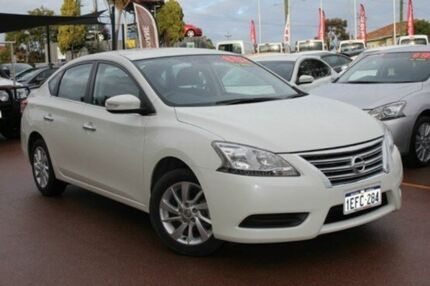 2013 Nissan Pulsar B17 ST White Diamond 1 Speed Constant Variable Sedan Willagee Melville Area Preview