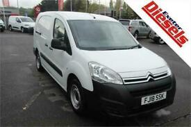 2018 Citroen Berlingo 1.6 BlueHDi LX 100Ps Panel Van Diesel Manual