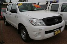 2009 Toyota Hilux SR White Automatic Dual Cab Minchinbury Blacktown Area Preview