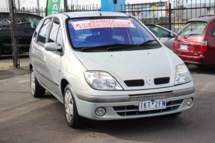 2003 Renault Scenic J64 MY03 Expression Silver 5 Speed Manual Hatchback Heatherton Kingston Area Preview