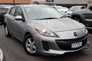 2012 Mazda 3 BL10F2 Neo Silver 6 Speed Manual Hatchback Coburg Moreland Area Preview